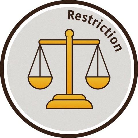 法規 Restriction
