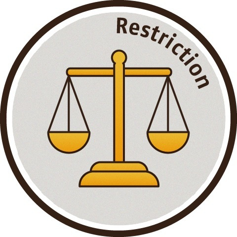 法規 Restriction