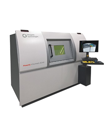 240kV 高功率微米焦點及奈米焦點 3D X-ray CT