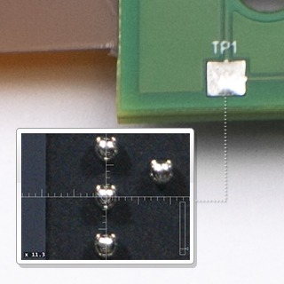 <b>膜厚儀</b> 利用FT150 / FT160膜厚元素分析儀測量晶圓凸塊中錫銀濃度比例
