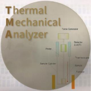 <b>熱分析-TMA</b> 利用TMA 熱機械分析儀氮化鋁控管AlN, Aluminum Nitride 熱膨脹係數CTE