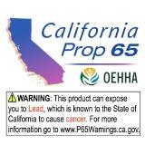 <b>RoHS 2.0</b> 加州65提案的警告標籤說明