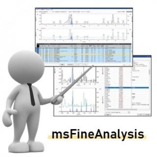 <b>質譜儀-Mass</b> 高解析質譜儀msFineAnalysis軟件:自動化圖譜解析軟件