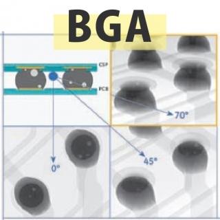 <b>X-ray影像</b> 穿透式X-Ray影像檢測系統-BGA檢測應用