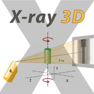 <b>X-ray影像</b> 非破壞式X光機檢測之應用-3D斷層掃描與結構重建