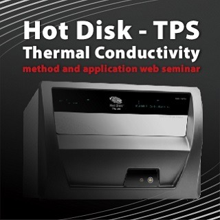 <b>原廠加持</b> Hot Disk- Transient Plane Source (TPS) Thermal Conductivity method and application web seminar